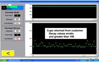 vacuum decay testing software